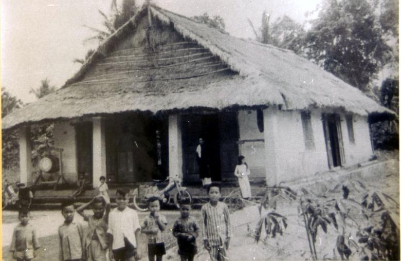 Một nhà thờ ở Châu Ổ khi DCCT nhận giáo điểm
