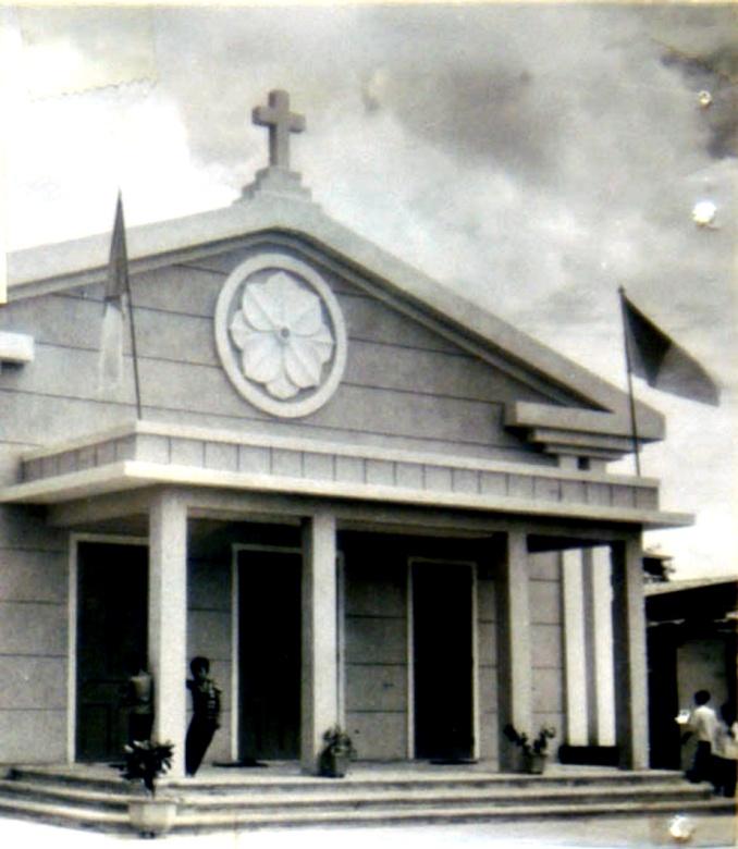 Một nhà thờ mới ở Châu Ổ