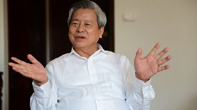 Ông Kim Quốc Hoa, Tổng biên tập báo Người cao tuổi. Ảnh tuoitre