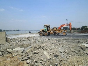 Việc lấp sông Đồng Nai làm khu đô tạo thị bị các nhà khoa học và người dân phản đối mạnh mẽ. Ảnh google