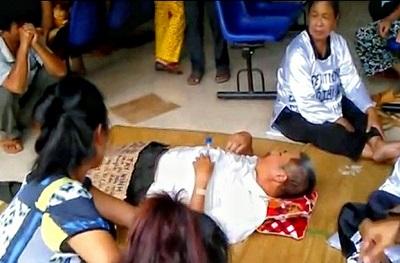 Ông Nguyễn Văn Thông bị an ninh đánh thương tích vào hồi tháng 01.2015