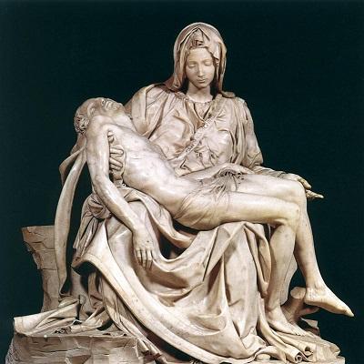 Bức tượng Đức Mẹ Sầu Bi (Pieta ) của Michelangelo