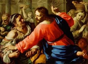 Chúa Giêsu đuổi các con buôn ra khỏi đền thờ Giêrusalem